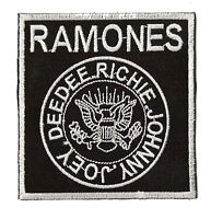 Écusson thermocollant patche The Ramones Punk Rock patch