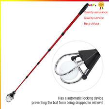 Retractable Golfer Ball Retriever Scoop Telescopic Pick Up Grabber Shaft Tool