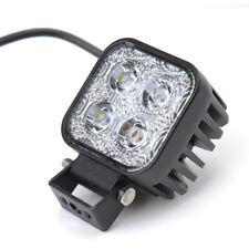 12W 80mm 2/4WD CREE LED Work Car Lamp Flood Light FloodLight Truck Offroad SUV