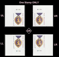 US 5035 Purple Heart Medal forever plate single (2014 date) B111111 MNH 2016