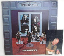 Ian Anderson JETHRO TULL Signed Autographed BENEFIT Vinyl Album LP w/ event pic