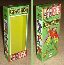 "MEGO 8"" GREEN LANTERN ALAN SCOTT CUSTOM BOX ONLY"