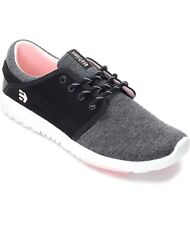 Etnies Scout Black Grey Pink Athletic Shoes US Women's 8.5 New With Box $69.95