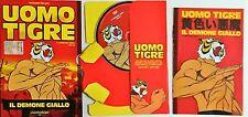 Uomo Tigre Il Campione Serie I Il Demone Giallo Dvd Edizione La Gazzetta