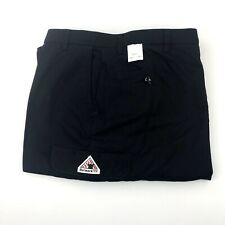 New BULWARK FR Flame Resistant Navy Blue Cargo Work Pants Size 62 Unfinished