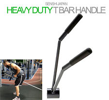 Original Senshi Japan T Bar Row Handle Weight Lifting Trainer Olympic&Standard