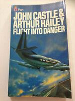John Castle & Arthur Hailey FLIGHT INTO DANGER 1979 Paperback. **FREE POSTAGE**