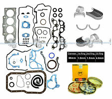 "NEW 96-97 TOYOTA RAV4 2.0L ""3SFE"" DOHC ENGINE FULL SET + NPR RINGS + BEARINGS"