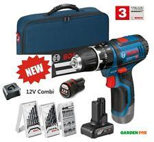 SALE - Bosch GSB12V-15 COMBI Drill/Driver PLUS EXTRAS 06019B697K 3165140996990 N