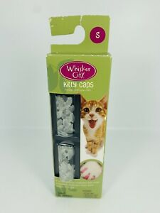 Whisker City Kitty caps nail non toxic prevent scratches & snags size Small