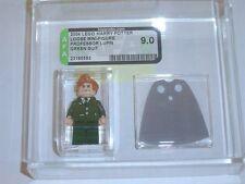 Lego 2004 Harry Potter Professor Lupin (Green Suit) Set 4758 GRADED AFA 9.00-F47