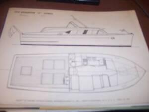"1958 Richardson ""27"" Express Boat Brochure"