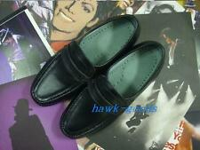 New!!MICHAEL JACKSON REAL LEATHER DANCE Billie Jean SHOES MJ COSTUME