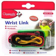 Clippasafe Multicolour Wrist Link - Shipped from United Kingdom