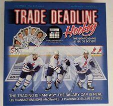 Trade Deadline Hockey The Board Game Trading Salary Cap Scorekeeper NHLPA