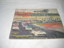 VINTAGE Nascar Daytona 500 Feb 15, 1981 Souvenir Program Winston Cup