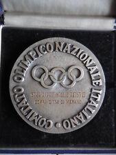grande medaglia premio del CONI gara di pattinaggio artistico città Merano 98mm