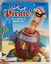 Tomy POP-UP PIRATE Interactive Action Family GAME 🎲 ITS A BARREL OF FAMILY FUN