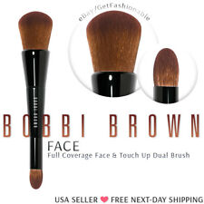 BOBBI BROWN Full Coverage Face & Touch-Up Brush Dual Ended Rare New Sale Price