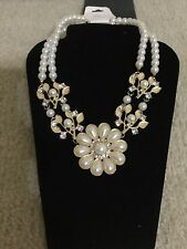 Women's Necklace Jewelry Faux Pearls Rhinestones Choker From USA