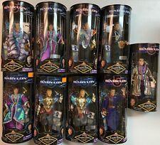 Babylon 5 9 Inch Boxed Action Figure Lot Of 9 - Sheridan, G'Kar, Vir, Delenn