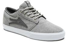 Lakai Shoes Griffin Grey Textile USA SIZE Skateboard Sneakers