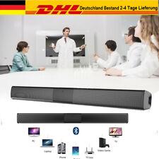 40W Bluetooth Soundbar Subwoofer TV Sound System Stereo Heimkino Lautsprecher DE