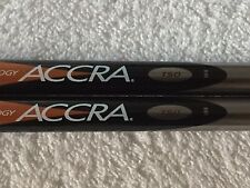 NEW ACCRA T50 STIFF FLEX WOOD SHAFT $39.99 EACH