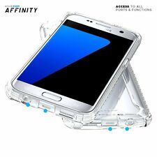 Case For Galaxy S7 Poetic【Affinity】Premium Thin&Corner Protection Bumper Clear