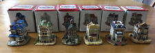 New listing Vintage Lot Of 6 Americana Collection Liberty Falls With Boxes 1993-1994