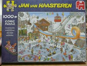 JUMBO JAN VAN HAASTEREN PUZZLE. THE WINTER GAMES . 1000 PIECES - BRAND NEW