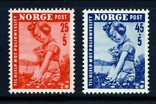 NORWAY 1950 Polio Victims (B48-49) - Mint Never Hinged