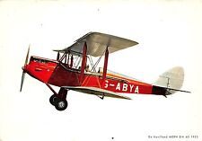 B71613 G ABYA de Havilland MOPH DH 60 avion airplane Spain