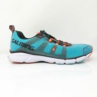 Salming Mens Enroute 2 1288043 Blue Running Shoes Lace Up Low Top Size 10.5