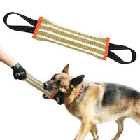Dog Bite Tug Toy with 2 Strong Handles Tough Durable Dog Bite Training Pillow