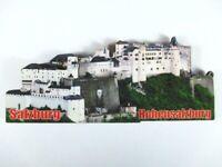 Salzburgo 3D Madera Recuerdo Deluxe Imán Austria Nuevo