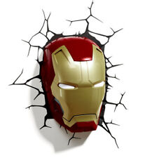 3D FX Marvel Avengers Iron Man Mask Wall Night Light