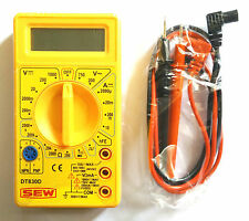 Brand New SEW Digital Multimeter DT830D With Probes