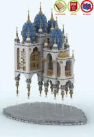 lego MOC | PDF Instructions (NO BRICKS) - Floating Castle