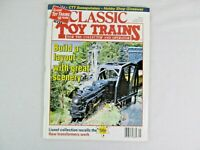 Classic Toy Train Magazine Back Issue January 1997 Model Railroad