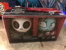 Disney The Nightmare Before Christmas Jack And Sally Salt And Pepper Shakers