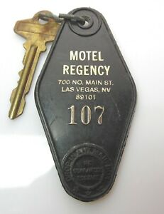 Vintage Regency Motel Las Vegas, NV Room Key and Fob