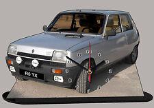 AUTO RENAULT 5 TX, R5 TX -01, AUTO IN OROLOGIO MINIATURA