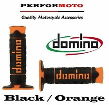 Domino Full Diamond Grips Black / Orange TM 85 MX / Enduro