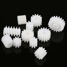 11 Kinds Plastic Shaft Gears 9Spindle and 2Worm DIY For Toy Robot Best