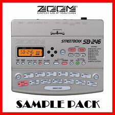 ZOOM SB-246 STREETBOXX SAMPLES - HIP HOP - DRUM KIT COLLECTION