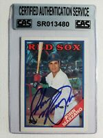 1988 Topps John Marzano RC Auto Autograph Card Signed Red Sox #757 Deceased-2008
