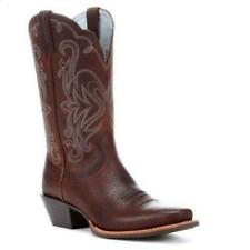 Ariat Ladies Legend Western Boots Brown Oiled Rowdy #10001046 Many Sizes ~ NEW