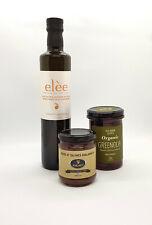 Olio extravergine greco Prima Selezione, Olive Kalamata BIO, Pate olive nere BIO