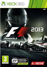 Formula 1 2013: F1 2013 ~ XBox 360 (in Good Condition)